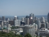 Blick vom Berg auf Downtown