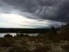 Aufkommender Sturm