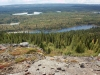 Ausblick vom Bergkamm