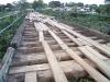 Brücke mit Löchern